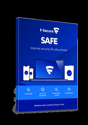 Bild på F-Secure Safe 3 användare (årskostnad)